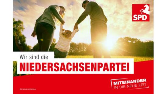 SPD - die Niedersachsenpartei